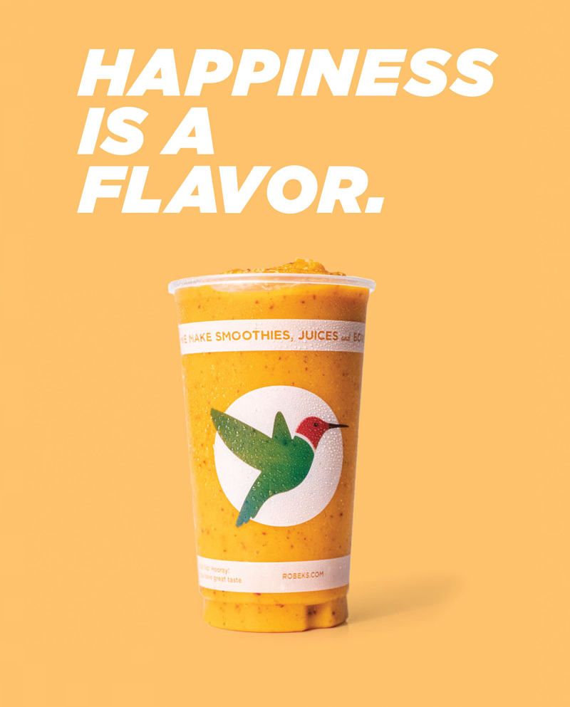 Happiness is a Flavor